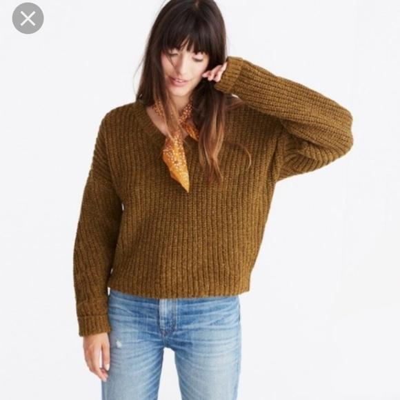 Madewell Sweaters - Madewell pleat sleeve sweater